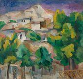 ROBERT FALK. Crimean Landscape.1915