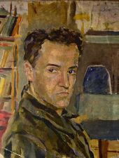 ISAI ZEITMAN. Self-Portrait. 1929