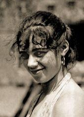 Olya Severtseva in Koktebel (Crimea). 1950