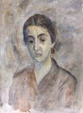 Robert FALK. Armenian (Portrait of Zoya Kalatozova). 1952