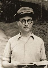 Robert Falk in the year of his first solo exhibition. 1924
