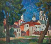 ROBERT FALK. Vitebsk. 1921