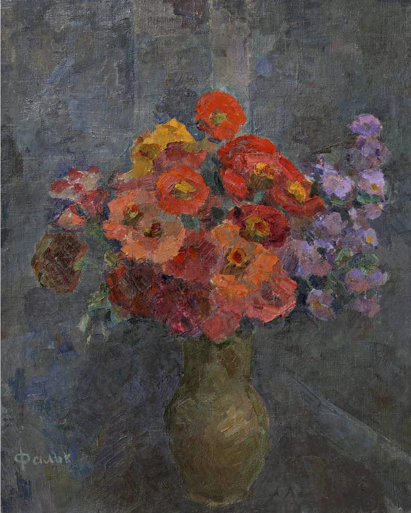 Robert FALK . Poppys. 1950