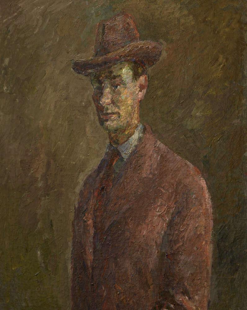 ROBERT FALK. Self-Portrait. Brittany. 1934