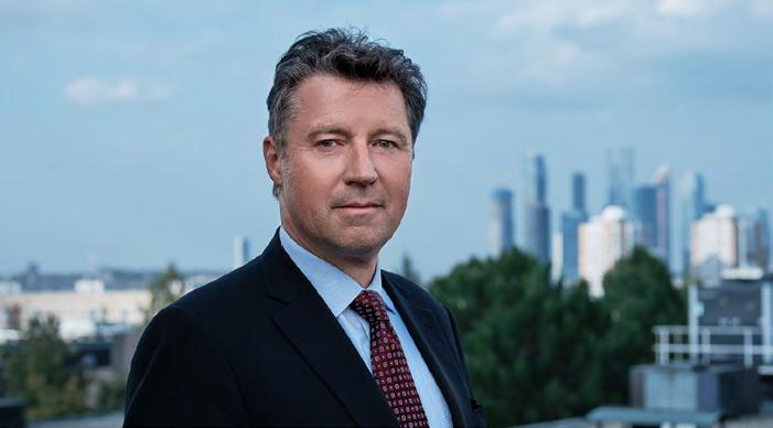 Геза Андреас фон Гайр, Посол Федеративной Республики  Германия в Российской Федерации