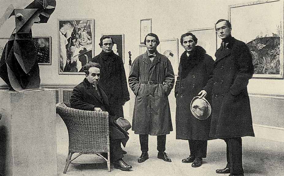 The organisers of the First Russian Art Exhibition in Germany. Berlin, October 1922