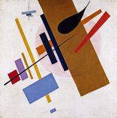 KAZIMIR MALEVICH. Suprematic Etude. 1915-1916