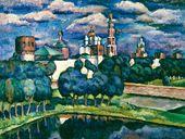ILYA MASHKOV. Novodevichy Convent. 1912-1913