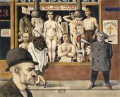 OTTO GRIEBEL. Exhibition of Cheap Goods. 1923