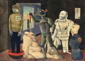 OTTO GRIEBEL. People from Various Materials. 1923
