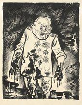 GEORGES GROSZ. Hero. 1924