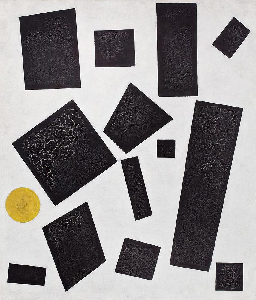 KASIMIR MALEWITSCH. Suprematistische Komposition. 1915
