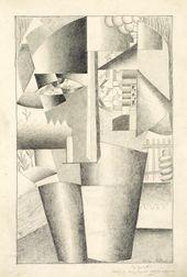 KASIMIR MALEWITSCH. Bildnis eines Erbauers. 1913
