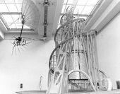 Blick in die Tatlin-Ausstellung. Kunsthalle Düsseldorf. 1993