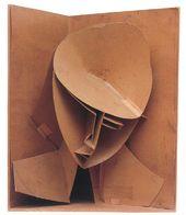 NAUM GABO. Modell für Konstruktiven Kopf Nr. 3. 1917