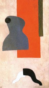 WLADIMIR LEBEDEW. Kubismus Nr. 1 (Mannequin). 1921