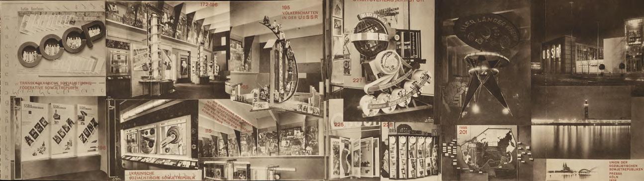Leporello zur Ausstellung PRESSA, Köln 1928