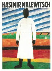 Titelseite des Kataloges zur Ausstellung Kasimir Malewitsch. Werke aus sowjetischen Sammlungen. 1980
