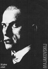 Titelseite des Kataloges zur Ausstellung Majakovskij – 20 Jahre Arbeit, nGbK Berlin, 1978