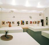 Ausstellungsansicht Die große Utopie, Schirn Kunsthalle Frankfurt am Main, 1992