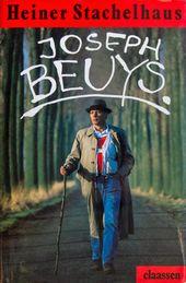 Joseph Beuys, Titelseite der Monografie, Düsseldorf, 1988