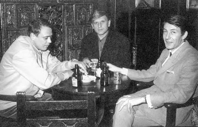Künstlergruppe ZERO (von links nach rechts): Günther Uecker, Heinz Mack, Otto Piene, 1961