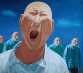FANG LIJUN, Second Group, No. 2. 1991/1992