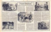 """""""Colonial exhibition at the Ethnographical Museum"""", article from the newspaper """"Die Hamburger Woche"""", June 1912"""