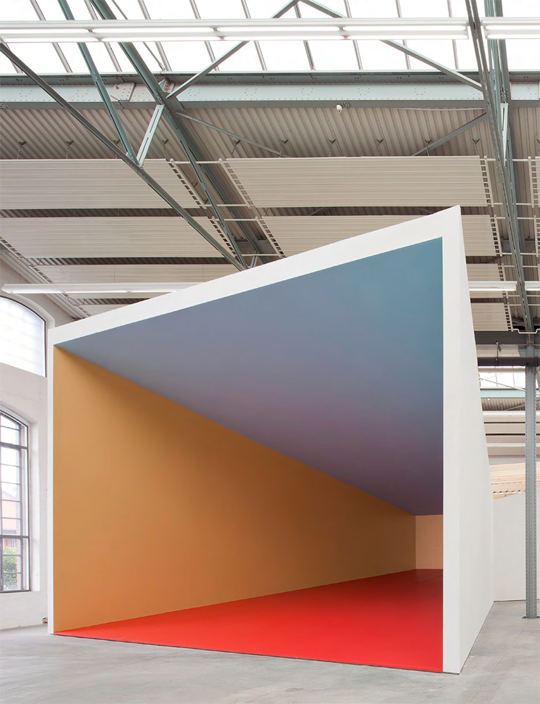 SARAH PELIKAN. Piano del colore. Kunsthalle Lingen, 2012