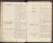 """Programme of """"Künstlerclub"""" of September 1792, signed by the members who joined by 1803"""