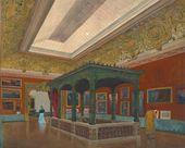 FRIEDRICH VON THIERSCH. Reconstruction of Kunstverein München. Skylight-Hall. 1889