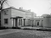Exterior view of Overbeck-Pavilion. About 1930