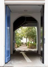 Entrance gate, KW Institute for Contemporary Art, Berlin