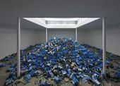 CYPRIEN GAILLARD. The Recovery of Discovery. Installation KW Institute for Contemporary Art, Berlin. 2011