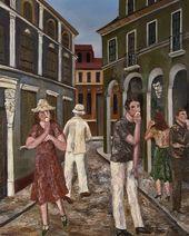 Natalya NESTEROVA. A Street. 1973. Diptych