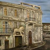 Natalya NESTEROVA. The House with the Lion. 1980
