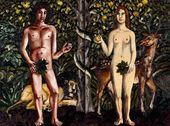 Natalya NESTEROVA. Adam and Eve. 2007. Diptych