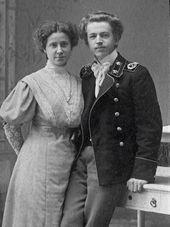 Zoya Vasilyevna, editor-stenographer, and Dmitry Dmitrievich, lawyer, the paternal grandparents of Natalya Nesterova