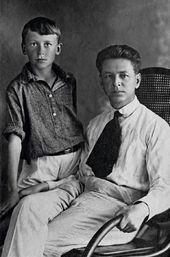 Igor Dmitrievich and Dmitry Dmitrievich (father and grandfather of Natalya Nesterova). 1920s