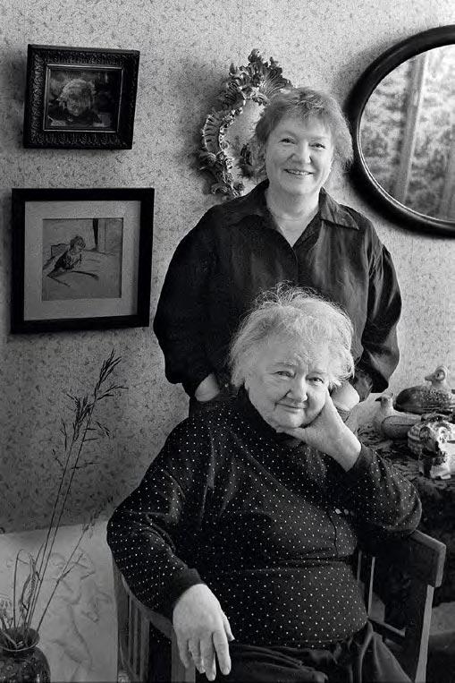 Natalya Nesterova with her mother, Zoya Nesterova
