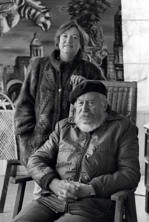 Natalya Nesterova with her father, Igor Smirnov