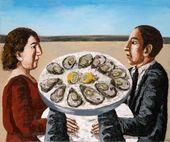 Natalya NESTEROVA. A Dish of Oysters. 2012