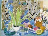 Tatiana Mavrina. Easter Still-life. 1993