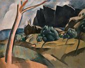 OLGA SACHAROFF. Catalan Landscape. 1920