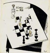 "OTHO LLOYD. Drawing for ""391"" magazine. 1917"