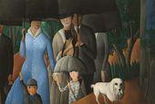 OLGA SACHAROFF. The Stroll. 1923