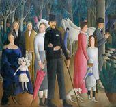 OLGA SACHAROFF. Marriage. 1919–1923