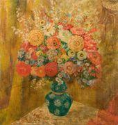 OLGA SACHAROFF. Red Bouquet