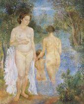 OLGA SACHAROFF. Bathers