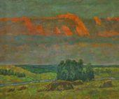 Efrem Zverkov. Pink Clouds. 1993